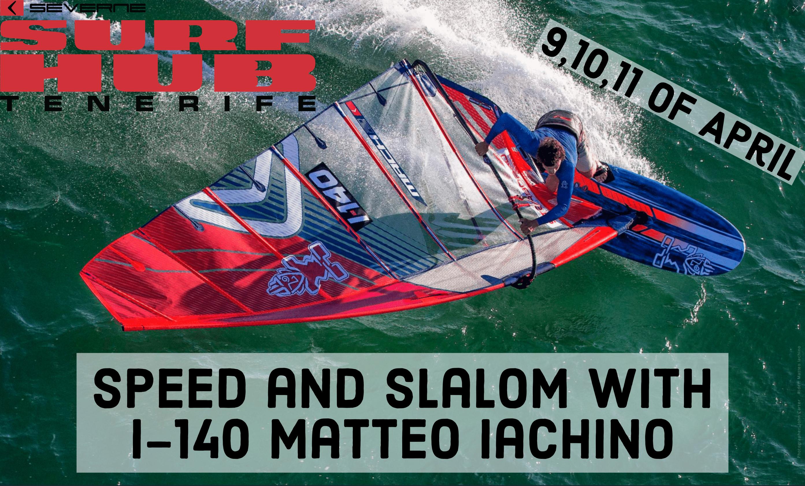 Matteo Iachino ITA140 Slalom Clinic
