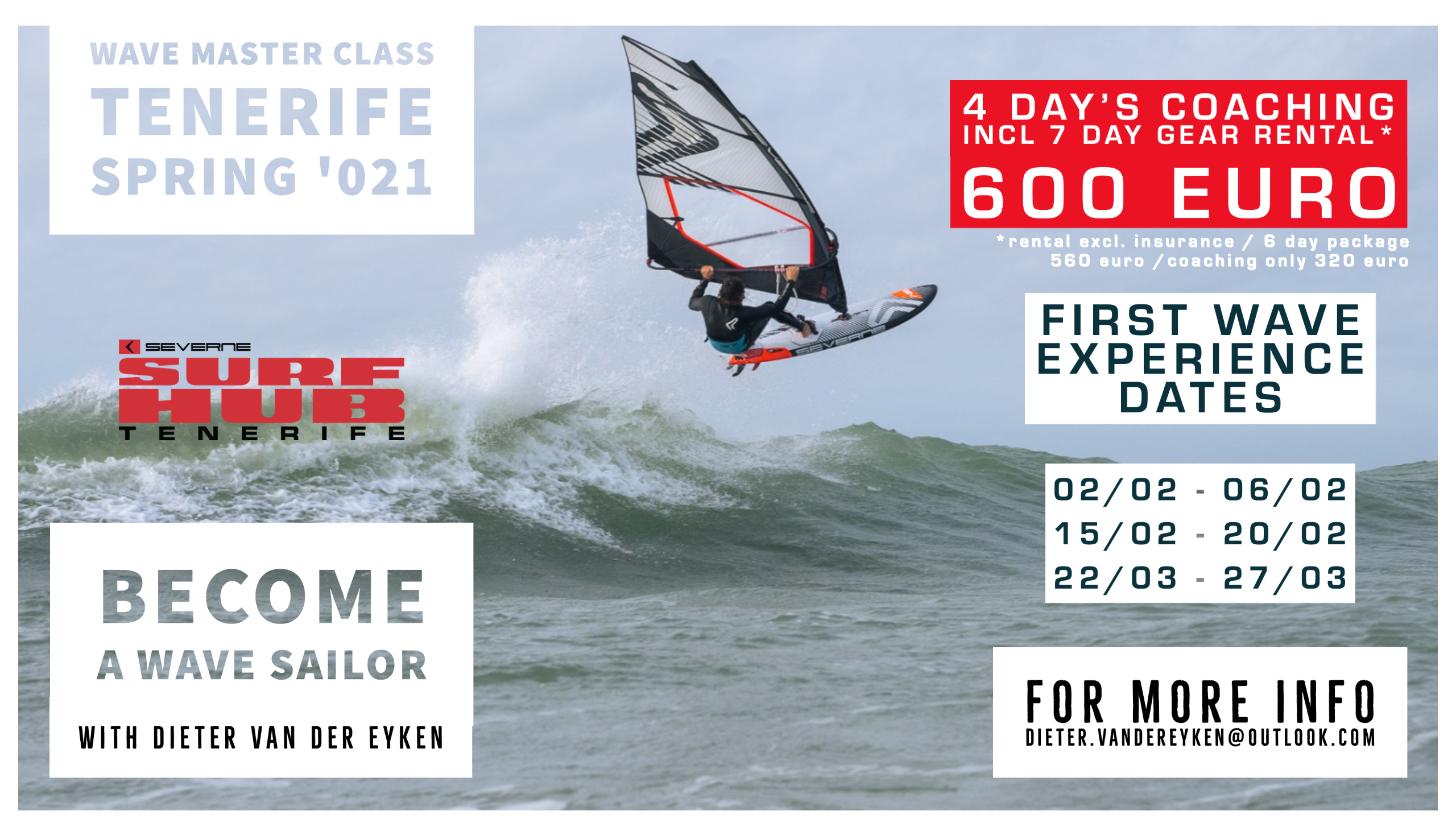 Dieter van der Eyken Coaching Wave Clinic